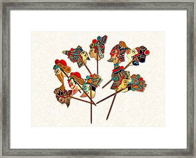 China - Land Of Many Faces Framed Print