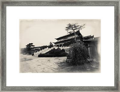 China #0640 Framed Print