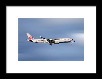 Airbus A350 Framed Prints