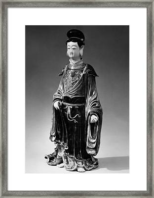 China: Bodhisattva Framed Print by Granger