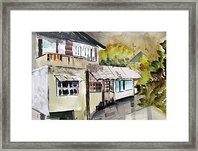 China Buildings Framed Print