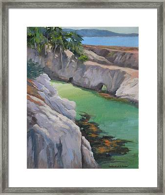 China Cove Framed Print by Maralyn Miller