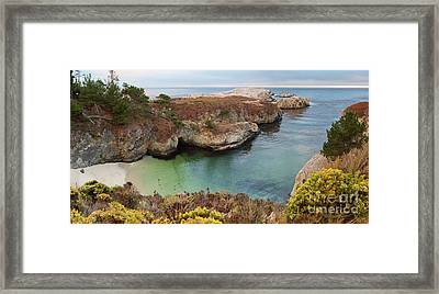 China Cove Framed Print by Yair Karelic