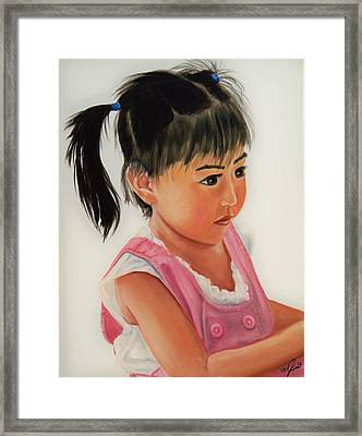 China Doll 2 Framed Print
