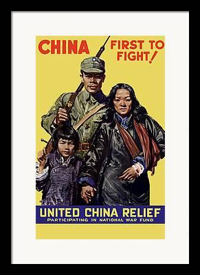 War Relief Framed Prints