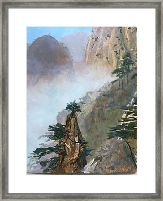 China Memories Framed Print
