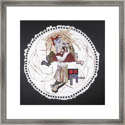 China Moon-muse Framed Print by France Garrido