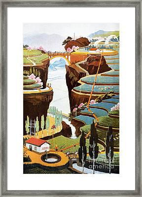 China: Poster, 1975 Framed Print by Granger