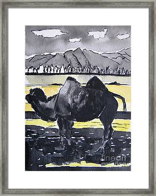 China Silk Road Framed Print by Lesley Giles