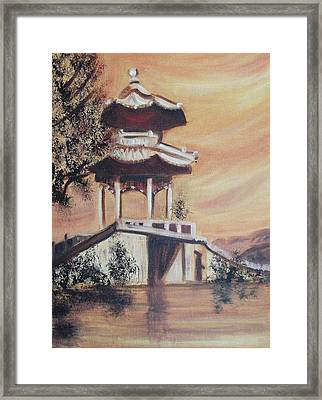 China Framed Print by Suzanne  Marie Leclair