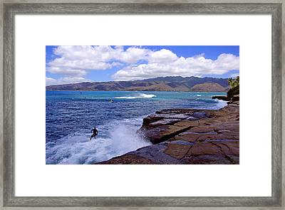 China Walls Framed Print by Kevin Smith