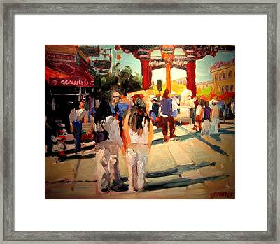 Chinatown Framed Print by Brian Simons