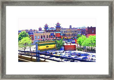 Chinatown Chicago 1 Framed Print