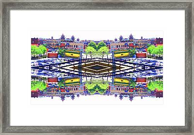 Chinatown Chicago 3 Framed Print by Marianne Dow