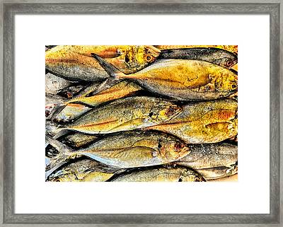 Chinatown Fish Market Nyc Framed Print