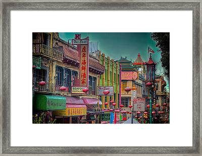 Chinatown Framed Print