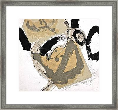 Chine Colle Framed Print