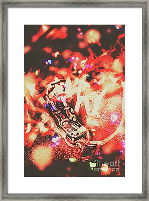 Chinese Dragon Celebration Framed Print