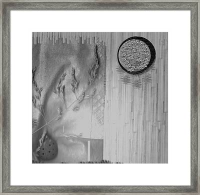 Chinese Garden Framed Print by Pepita Selles