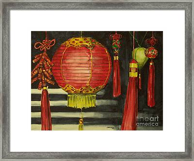 Chinese Lanterns No. 1 Framed Print