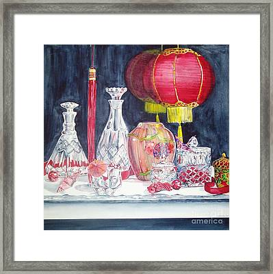 Chinese Lanterns No. 2 Framed Print