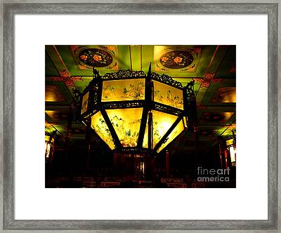 Chinese Latern Framed Print