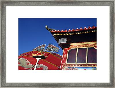 Chinese London Framed Print by Jez C Self