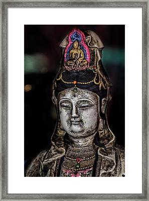 Chinese Statuette  Framed Print by Robert Ullmann