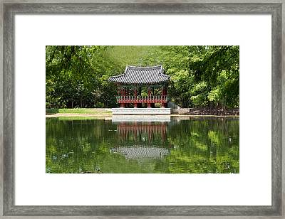 Chinese Theater Framed Print