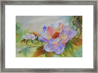 Chinoiserie Framed Print