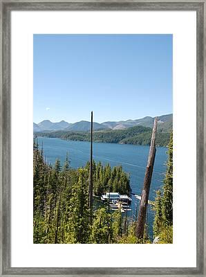 Chinootka Lodge #1 Framed Print