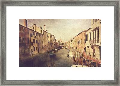 Chioggia Framed Print