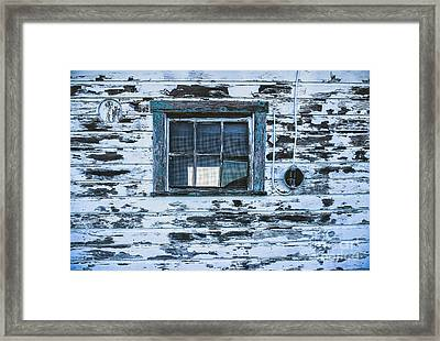 Chipped Paint Framed Print