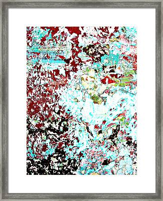 Chipped Wall 1 Framed Print