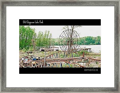 Chippewa Lake Park Now 2 Framed Print