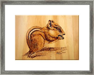 Chippies Lunch Framed Print