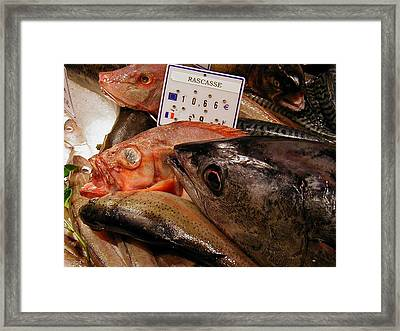 Chips With That  Framed Print by Richard Mansfield