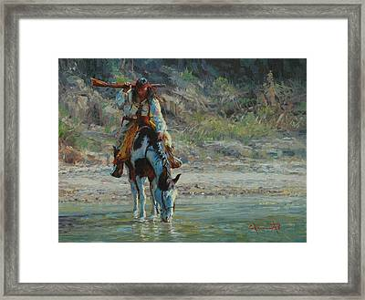 Chiracahua Framed Print by Jim Clements