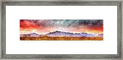 Chiricahua Framed Print by Harry Ridgway