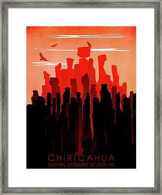 Chiricahua National Monument 4 - By Diana Van Framed Print