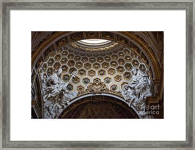 Chisea Di San Luigi Dei Francesi Framed Print by Joseph Yarbrough