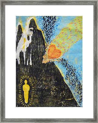 Chisel Framed Print