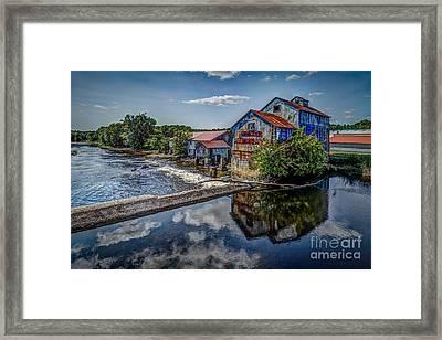 Chisolm's Mills Framed Print