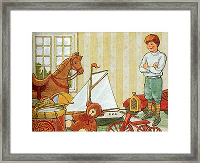 Chnangeable Arthur Framed Print by Valer Ian