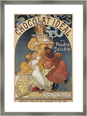 Chocolat Ideal Framed Print