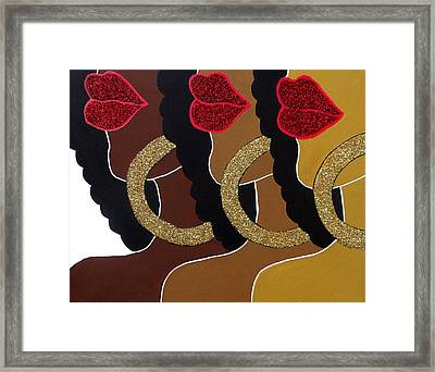 Chocolate 2 Honey Framed Print by Kimberly Lewis