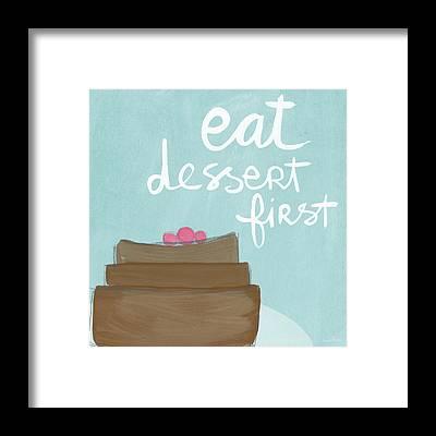 Dessert Framed Prints