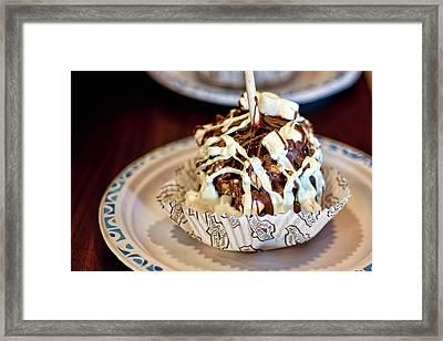 Chocolate Caramel Apple Framed Print
