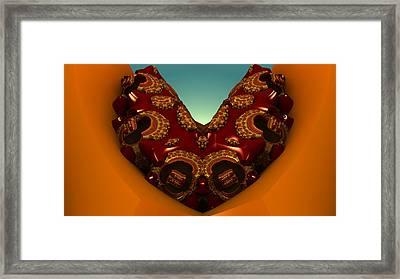 Chocolate Cookie Framed Print by Konstantinos Goytzamanis