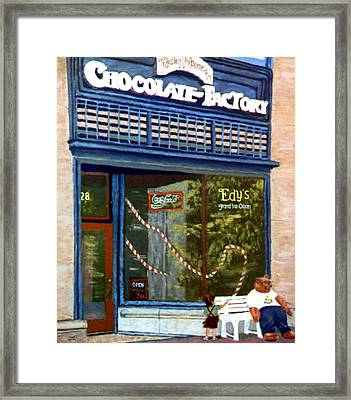 Chocolate Factory Framed Print by Stan Hamilton